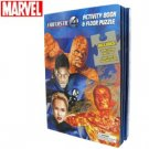 Fantastic 4 Activity Book & Floor Puzzle