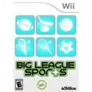 Big League Sports Wii Video Game