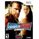 WWE Smack Down Wii Video Game