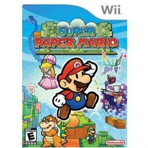 Super Paper Mario Wii Video Game