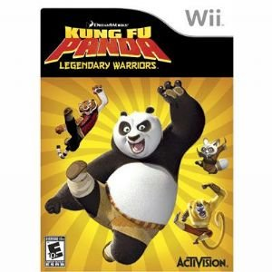Kung Fu Panda Warrior Wii Game