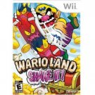 Wario Land Shake it Wii Game