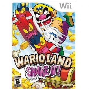 Wario Land Shake it Wii Game