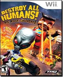 Destroy All Humans Big Willy Unleashed Nintendo Wii