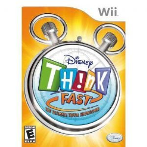Disney Think Fast Wii Game