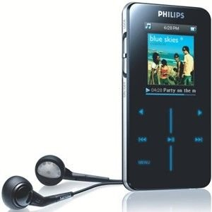 Philips 2GB MP3 Player - Photo Viewer - Flash Memory -1.7 LCD