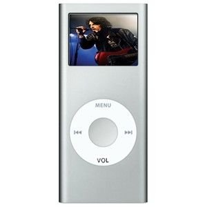 2GB MP4 Portable Digital Audio Player Silver