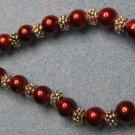 Red/Silver Bracelet
