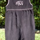 Puddle Jumper Monogrammed Handmade Little Girls Jumper