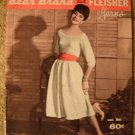 Vintage 1959 Bear Brand Knitting Pattern Book!Dresses, Jackets, Skirts +