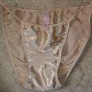 Vintage Victoria's Secret SATIN Second Skin String Bikini Panties Sz. S