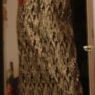 Silver/Black Prom or Party Strapless Dress, House of Fraser UK M 7/8