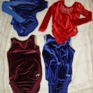 Alpha Factor & GK Gymnastic Leotard Lot (4!) Adult L