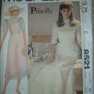 Vintage McCall's Priscilla Bridal Bridesmaid Sewing Pattern 8521 Miss Sz 10 OOP/UNCUT!
