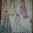 Vintage McCall's Priscilla Bridal Bridesmaid Sewing Pattern 8520 Miss Sz 12 OOP/UNCUT!