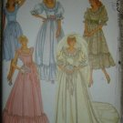 Vintage McCall's Wedding Bridal Bridesmaid Sewing Pattern 7894 Miss Sz 10 OOP/UNCUT!