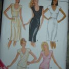 Vintage Butterick Sewing Pattern 3991 Lingerie: Half Slip & Camisole Size 12-14-16