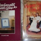 Janice Love Hardanger Pattern Booklets (2!) Hardanger Hearts Love Affair/With Love