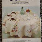 Vintage Burda Abplattmuster Floral Embroidery Transfer Pattern 746