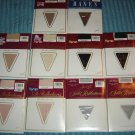 Vintage Hanes Ultra/Silk Reflections Pantyhose Lot (10 Pr!) Many Colors, Sz AB