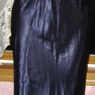 Stunning SILKY SATIN Midnight Blue Nightgown, The Jessica Lynn Collection, Size M