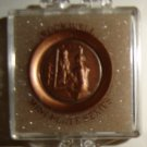 """Creative World Miniatures Dollhouse Plate, Norman Rockwell Mini Series """"Girl At The Mirror"""""""