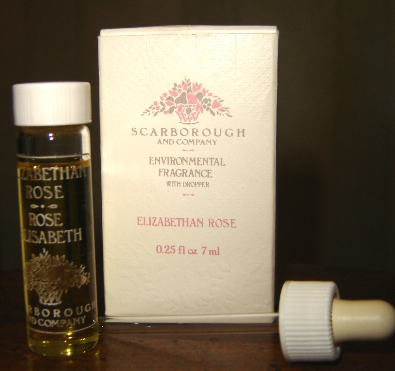 Scarborough and Company Elizabethan Rose Environmental Fragrance Oil (Vintage)