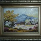 "Vintage Mt. Rainier Oil Painting by Lulu Armstrong; Small (7"" x 5"")"