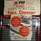 Vintage Carter's X-Pert Plastic Typewriter Type Cleaner, Dated 1966; NIP!