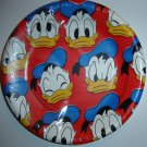 "Vintage Walt Disney Donald Duck Paper Dessert Plates (Pkg. of 8, 7"" in Diameter)"