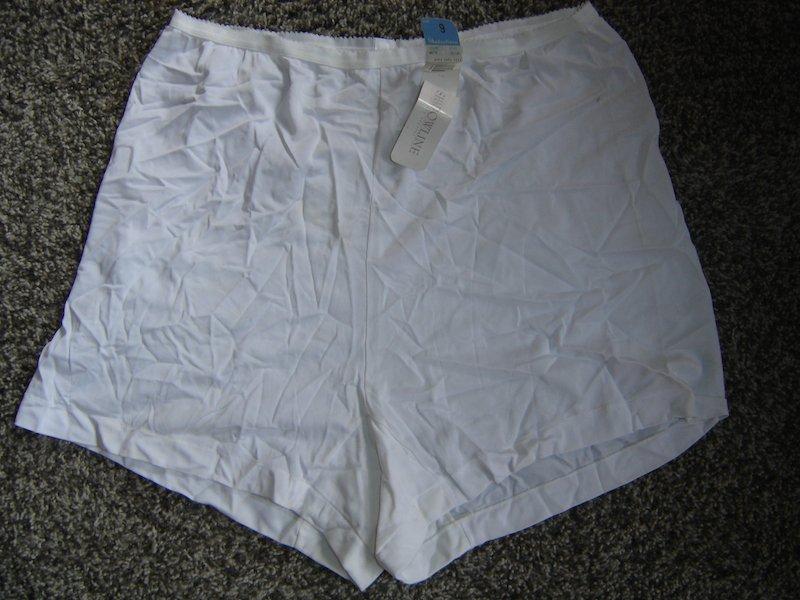 Vintage Shadowline Acetate Tap Panties, Sz. 9; NWT