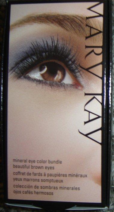 Mary Kay Mineral Eye Color Bundle, Beautiful Brown Eyes!