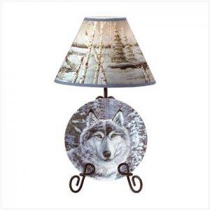 Wolf Lamp