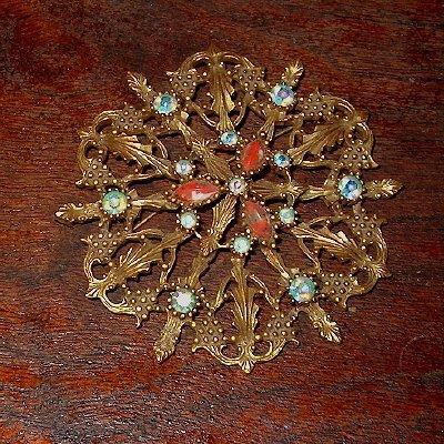 EMMONS VINTAGE Starburst brooch