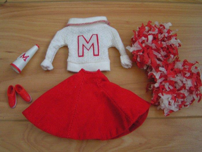 Vintage Barbie Outfit #876 - Cheerleader