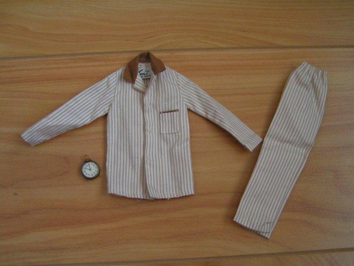 Vintage Ken Sleeper Set Brown Outfit #781