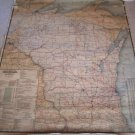 1906 Wisconsin Railroad Map