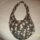 Hand Made Hobo Bag (100% Cotton/Crochet)