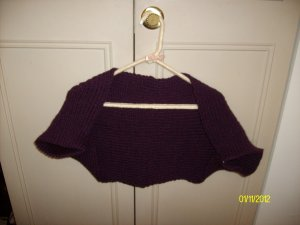 Hand Made Shrug (Knit)