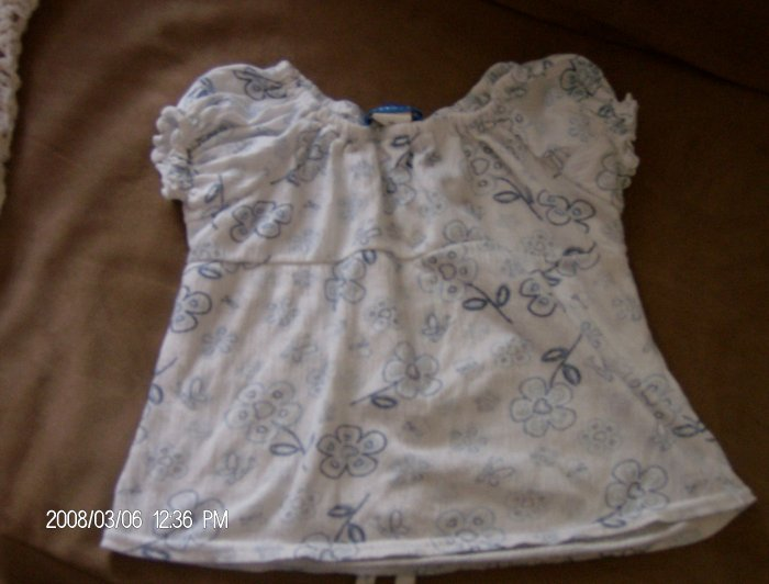 GIRL'S PERISCOPE TOP SIZE 5/6