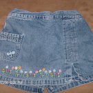 STAR RIDE GIRL'S DENIM SKORT SIZE 6