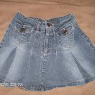 ARIZONA JEAN COMPANY GIRL'S DENIM SKIRT SIZE 10