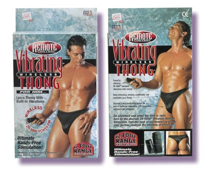 Wireless Remote Controled Undies for HIM  008603SE