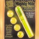 Mighty Mite Massager waterproof and Glows in the Dark