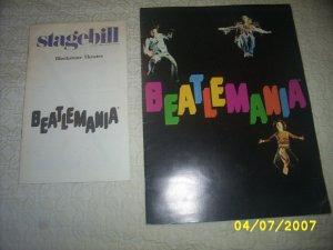 Beatlemania Book and Stagebill Blackstone Theatre
