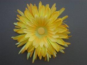Angela's Accessories Yellow Flower