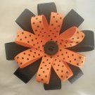 Angela's Accessories Halloween Flower Bow: 15% off!!