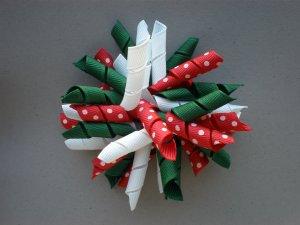 Angela's Accessories Christmas Big Korker Bow