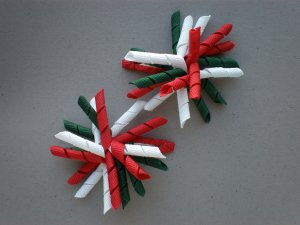 Angela's Accessories Mini Christmas Korker Bows