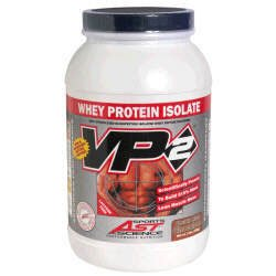AST Sports Science VP2 Whey Protein Isolate - Double Rich Chocolate - 2lbs.